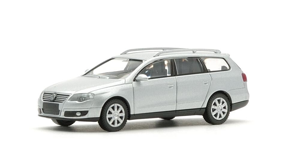 """Wiking Werbemodell # VW Volkswagen Passat Variant B6 /"""" schwarzmetallic /"""" 1:87"""